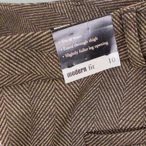 NEW Jones NY Tweed Stretch Pants Trousers Size 10